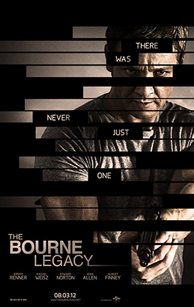 """The Bourne Legacy"" (2012) starring Jeremy Renner"