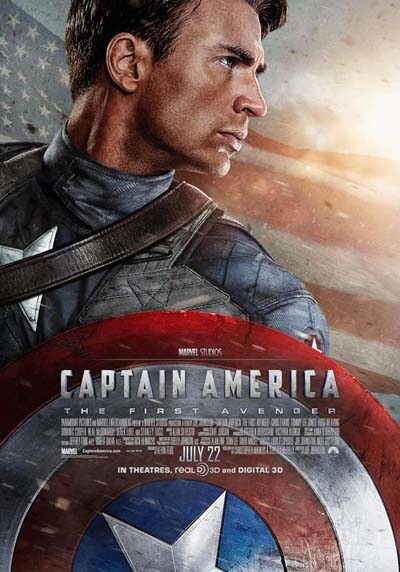 "Poster for ""Captain America: The First Avenger"" (2011)"