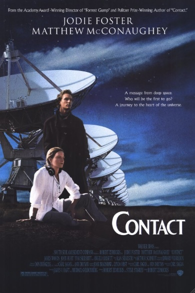 "Movie poster for ""Contact"" (1997)"