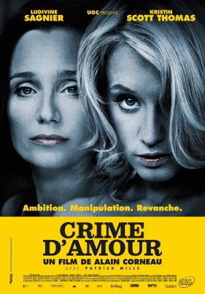 "Poster for ""Crime d'amour"" or ""Love Crime"" (2011)"