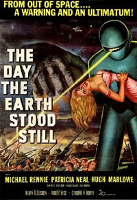 "Poster for ""The Day the Earth Stood Still"" (1951)"