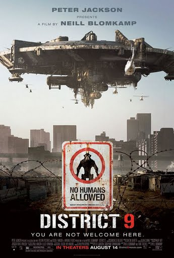 "Poster for ""District 9"" (2009)"