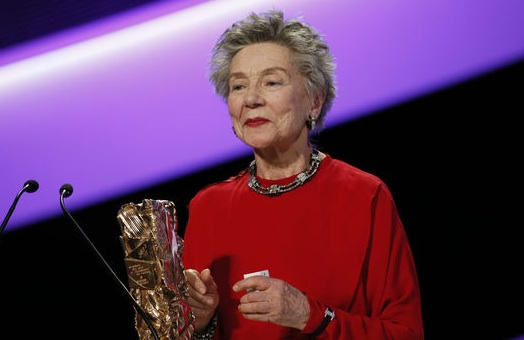 "Emmanuelle Riva won best actress in Michael Haneke's ""Amour"" at the 38th annual Cesars in Paris"