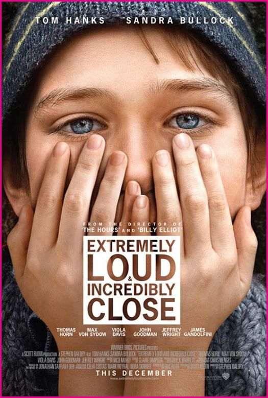 "Movie poster for ""Extremely Loud and Incredibly Close"" (2011)"