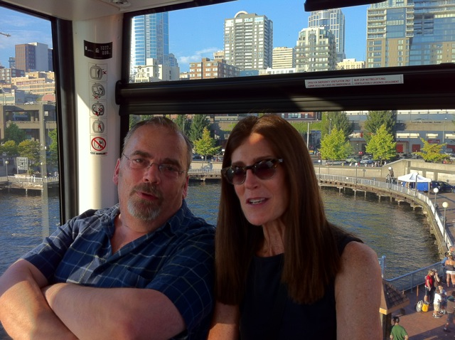 On the Great Wheel: August 2012, Seattle