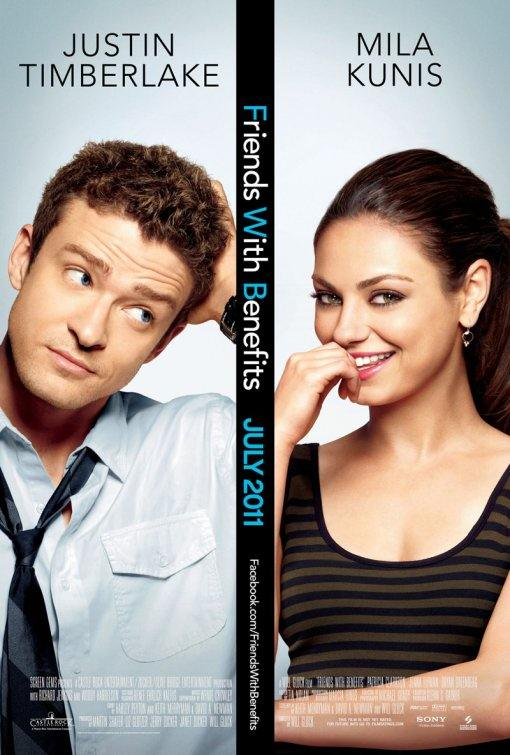 "poster for ""Friends with Benefits"" (2011)"
