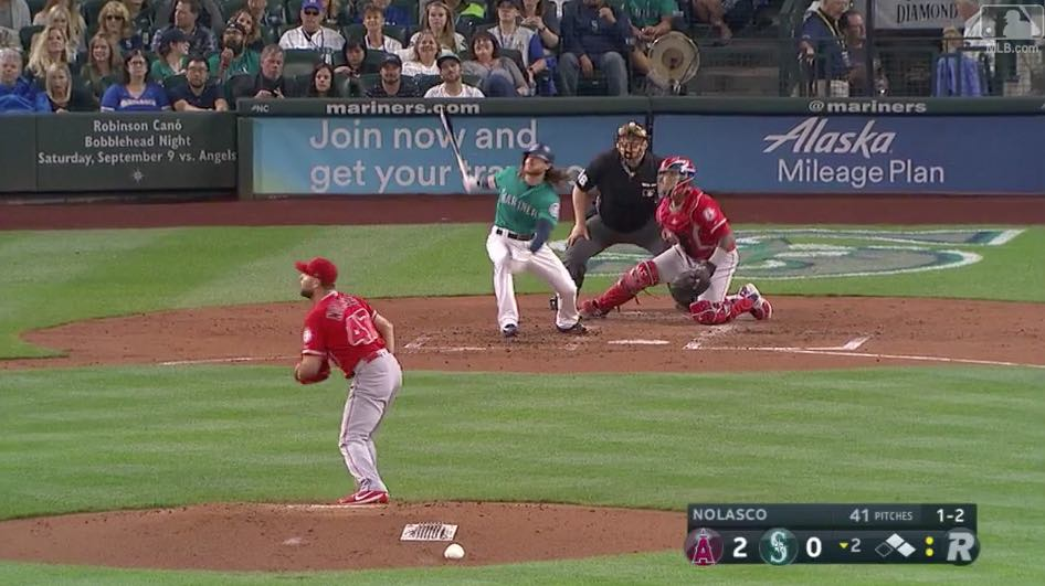 Ben Gamel homer vs. Angels