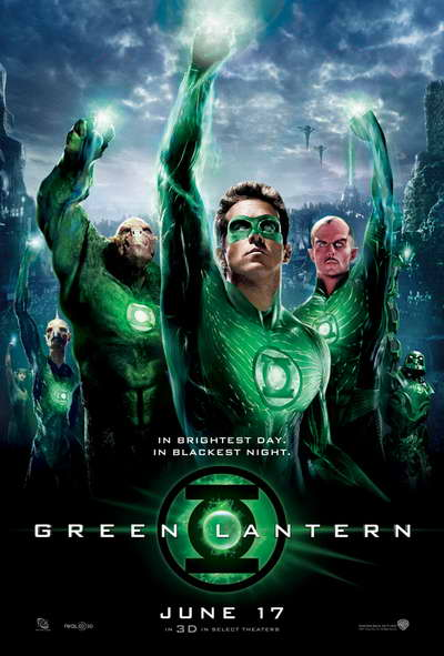 "Movie poster for ""Green Lantern"" (2011)"