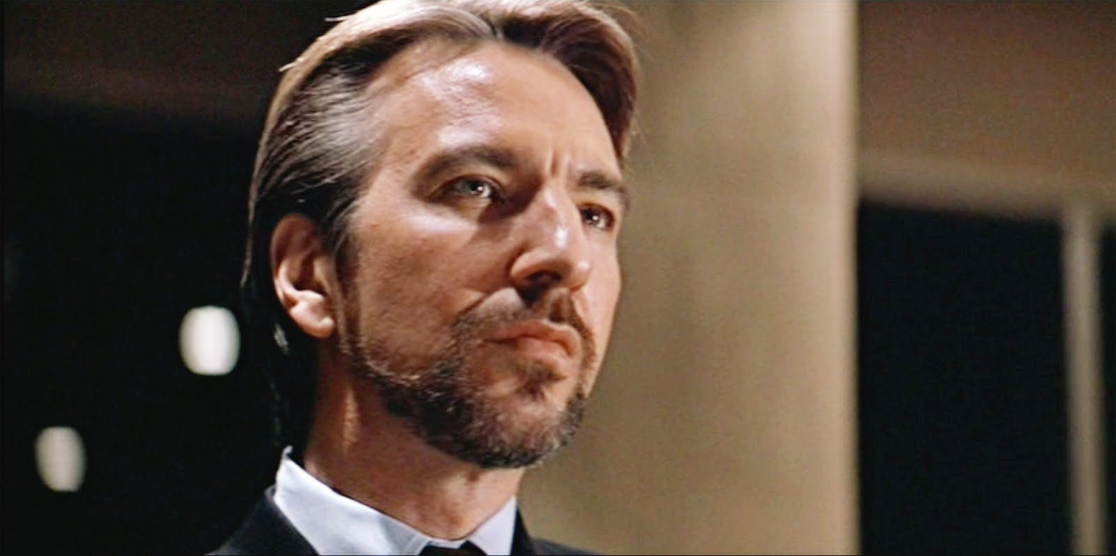 "Hans Gruber in the original ""Die Hard"""
