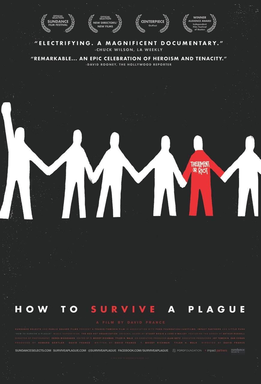 "Final poster for ""How to Survive a Plague"" (2012)"