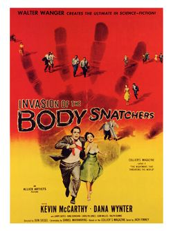 "Poster for ""Invasion of the Body Snatchers"" (1956)"