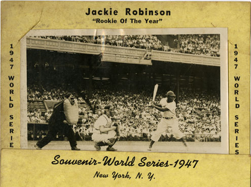 Jackie Robinson, 1947 World Series