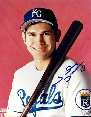 Johnny Damon with the Kansas City Royals