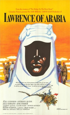 "poster for David Lean's ""Lawrence of Arabia"""