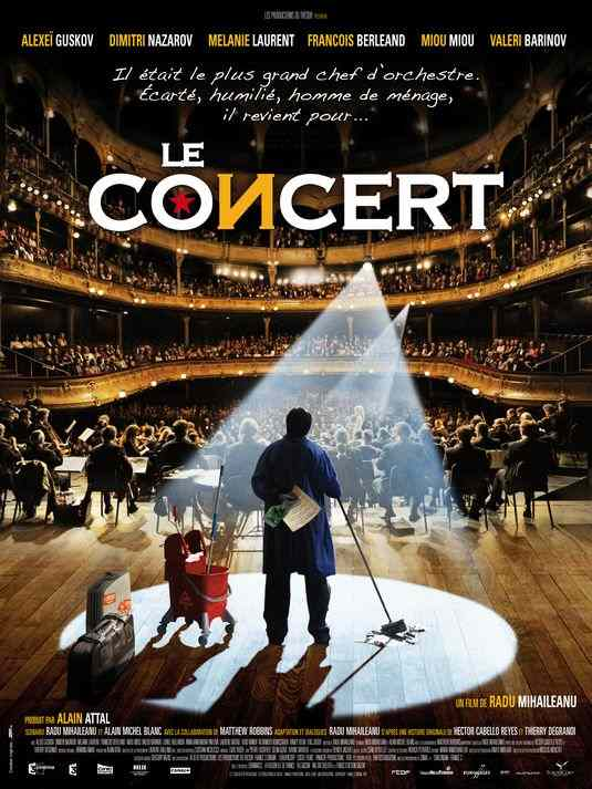 "Poster for ""Le Concert"" (2009)"