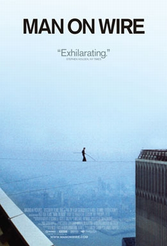 "Poster for ""Man on Wire"" (2008)"