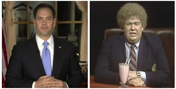 Marco Rubio's water bottle moment may have been a Stephan Seely moment (SCTV)