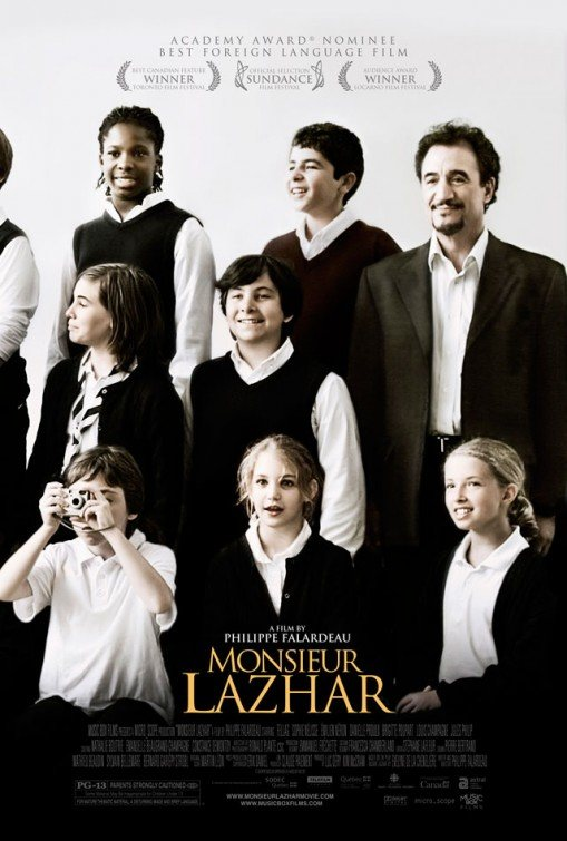 "US poster for ""Monsieur Lazhar"" (2011)"
