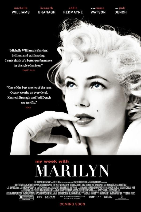 "Poster for ""My Week with Marilyn"" (2011)"