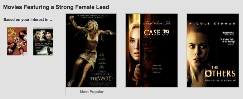 Netflix's Movies with a Strong Female Lead