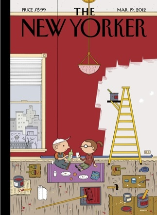 New Yorker cover: March 19, 2012