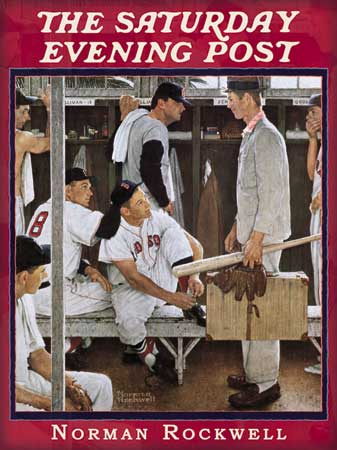 "Norman Rockwell's ""The Rookie,"" with Frank Sullivan"