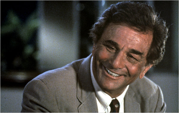 Peter Falk as Lt. Columbo