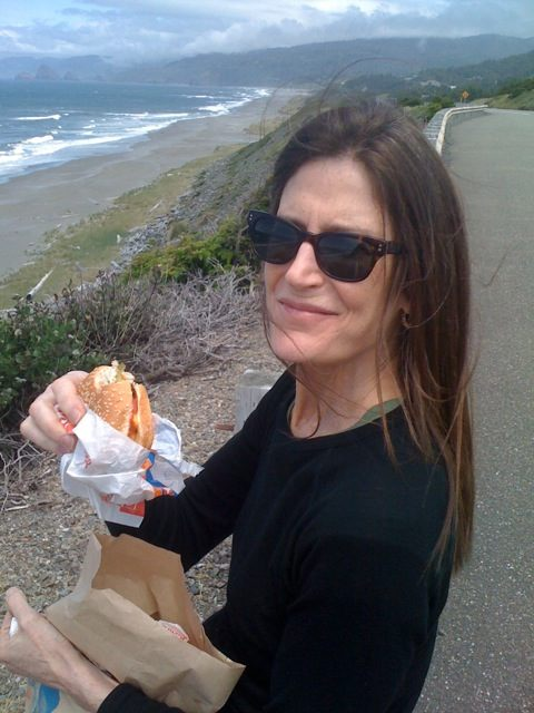 Patricia, Dairy Queen, and Hwy 101