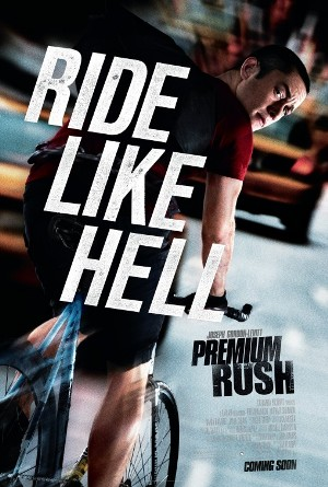Poster for PREMIUM RUSH (2012) with Joseph Gordon-Levitt