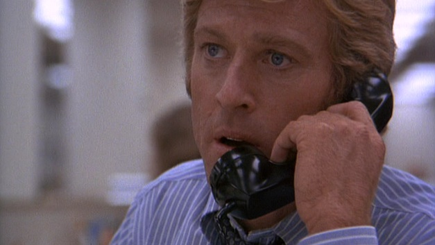 """I gave it to Stans."" Robert Redford in ""All the President's Men"" (1976)"