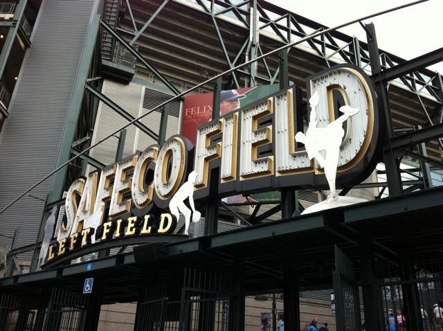 Safeco Field, August 2012