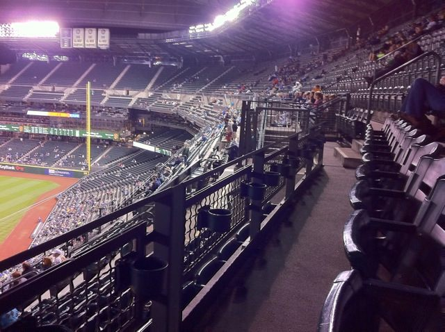 Safeco Field, June 2012, empty stands in the late innings