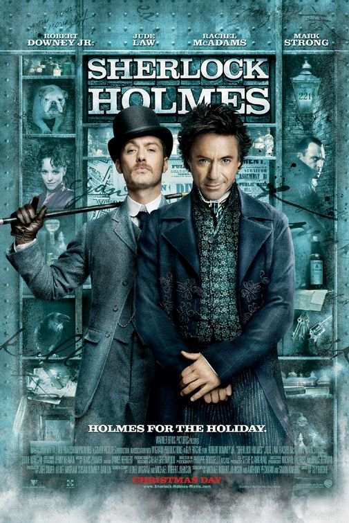 "Poster for ""Sherlock Holmes"" (2009)"