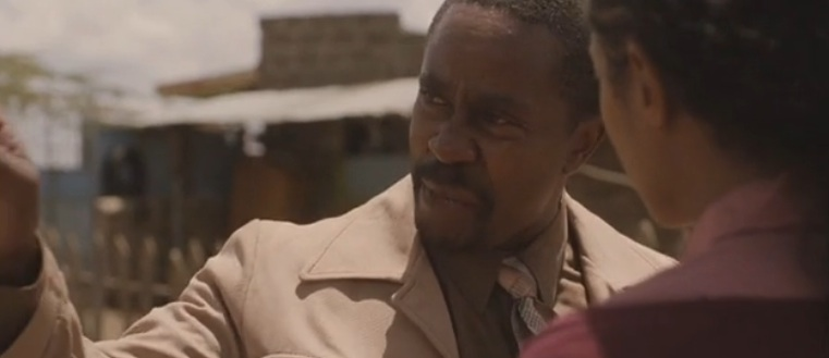 "Mr. Kipruto (Vusi Kunene) in ""The First Grader"" (2010)"