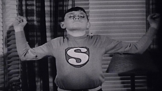 "A kid in 1940 getting strong like Superman: from ""Secret Origins: The Story of DC Comics"""