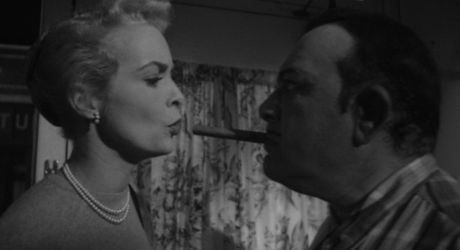 "Susie sticks it to Uncle Joe Grandi in ""Touch of Evil"" (1958)"