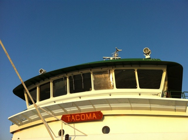 Tacoma, one of the Washington State ferries: Sept. 10, 2011