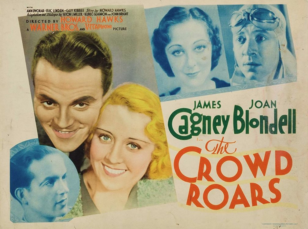 The Crowd Roars with James Cagney movie review