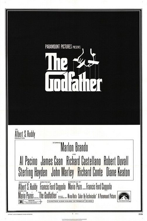 The original Godfather poster