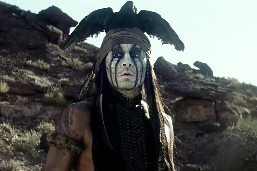Johnny Depp's Tonto