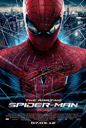 "poster for ""The Amazing Spider-Man"" (2012) starring Andrew Garfield"