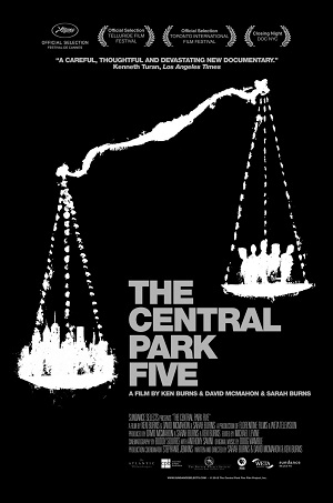 "Poster for ""The Central Park Five"" by Ken Burns"