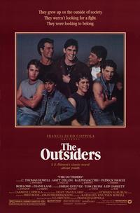 "poster for ""The Outsiders"""