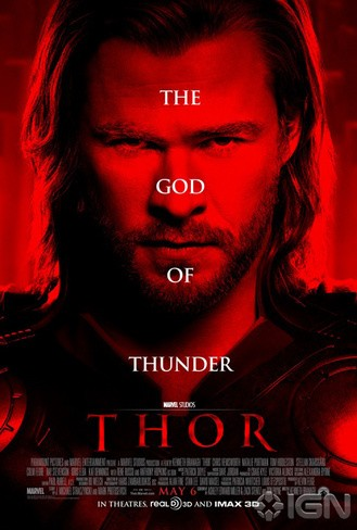 "Movie poster for ""Thor"" (2011)"