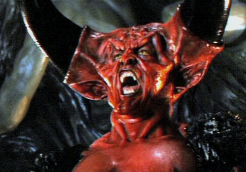 "Tim Curry as Darkness in ""Legend"" (1985)"