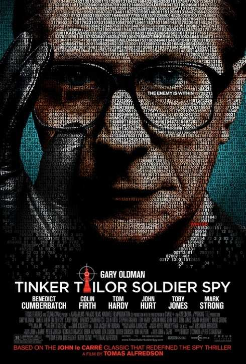 "Poster for Tomas Alfredson's ""Tinker Tailor Soldier Spy"" (2011)"