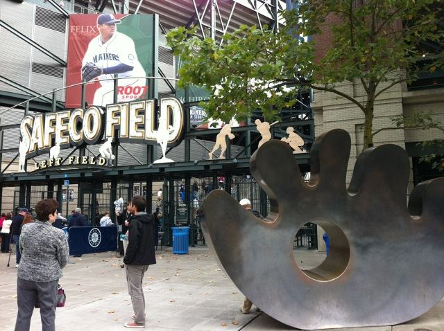 The Left Field Gate at Safeco Field, Seattle