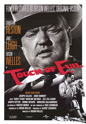 "poster for ""Touch of Evil,"" directed by Orson Welles"