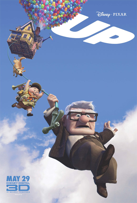"Poster for Pixar's ""Up"" (2009)"