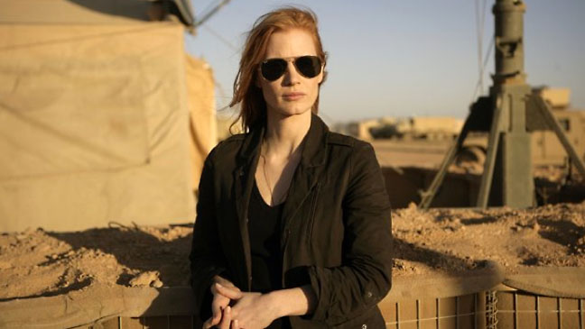 "Jessica Chastain as Maya in ""Zero Dark Thirty"""